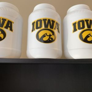 Iowa Hawkeyes Tub of Carmel Corn - Shop Iowa - shopiowa.com - Marketplace website for Iowa's Brick & Mortar Retailers