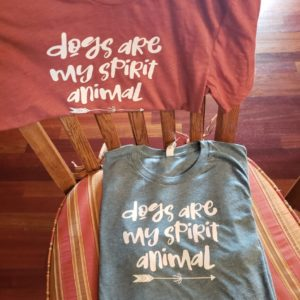 Dogs Are My Spirit Animal T-Shirt Shop Iowa