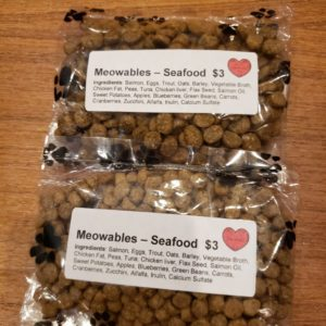 Gourmet Cat Treats – Meowables Seafood Cat Treats