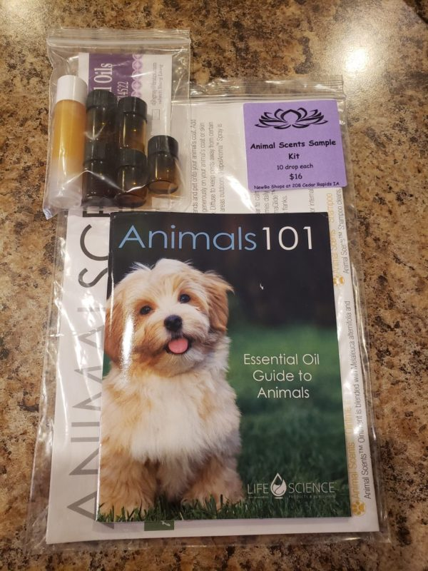 Mini Kit of Essential Oils for Dogs