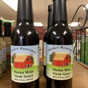 Merlot Wine Steak Sauce - Shop Iowa - shopiowa.com - Marketplace website for Iowa's Brick & Mortar Retailers