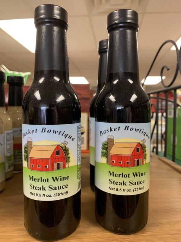 Merlot Wine Steak Sauce