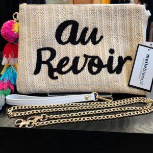Au Revoir Clutch/Crossbody Purse