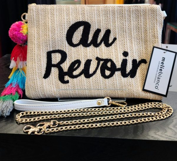 Au Revoir Clutch Purse - Shop Iowa - shopiowa.com - Marketplace website for Iowa's Brick & Mortar Retailers