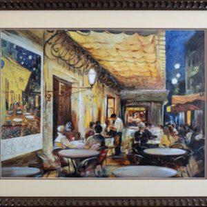 Cafe Scene Artwork