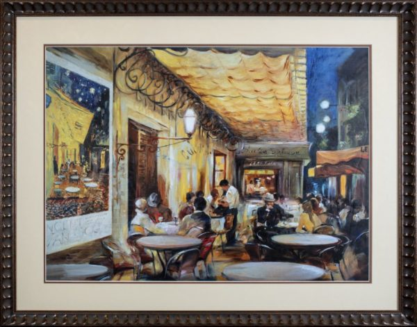 Cafe Scene Artwork
