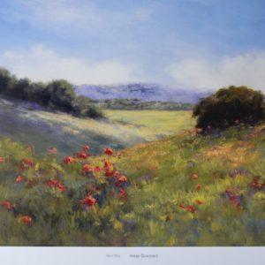 Landscape Field Print by Alice Weil