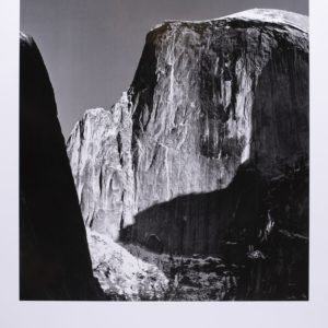 Ansel Adams Moon & Half Dome Yosemite Print