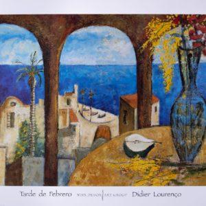 Tarde de Febrero by Didier Lourenco Print