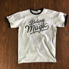 Believe in Magic White Tshirt