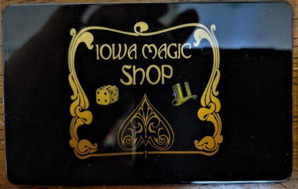 Iowa Magic Shop In-store Gift Card