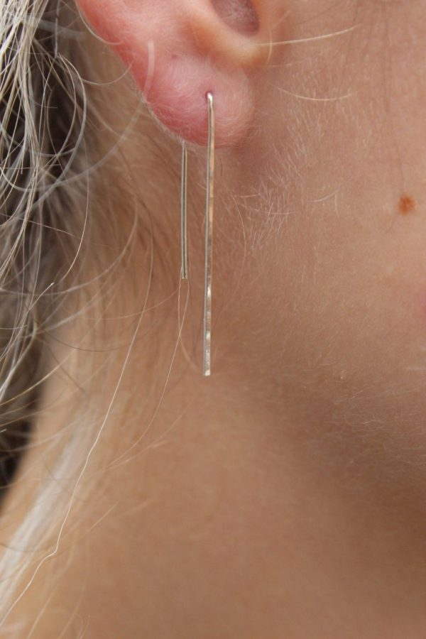 Icicle Earrings in Silver, Gold, or Rose Gold