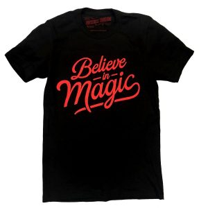 Believe in Magic Black Tshirt