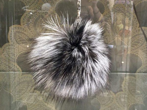 Fur Pom keychains – Various colors