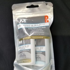 photo of Sea Gold & See Buff, Anti-Fog/Dive Mask Cleaner Combo pack on shopiowa.com