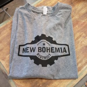 New Bohemia District Short Sleeve T-shirt