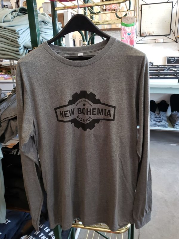 New Bohemia District Long Sleeve T-Shirts