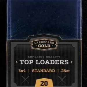 Regular Top Loaders Protective Card Holders- 25 Ct