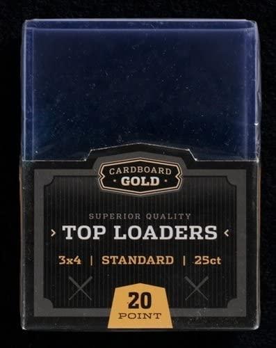 Regular Top Loaders Protective Card Holders- 25 Ct