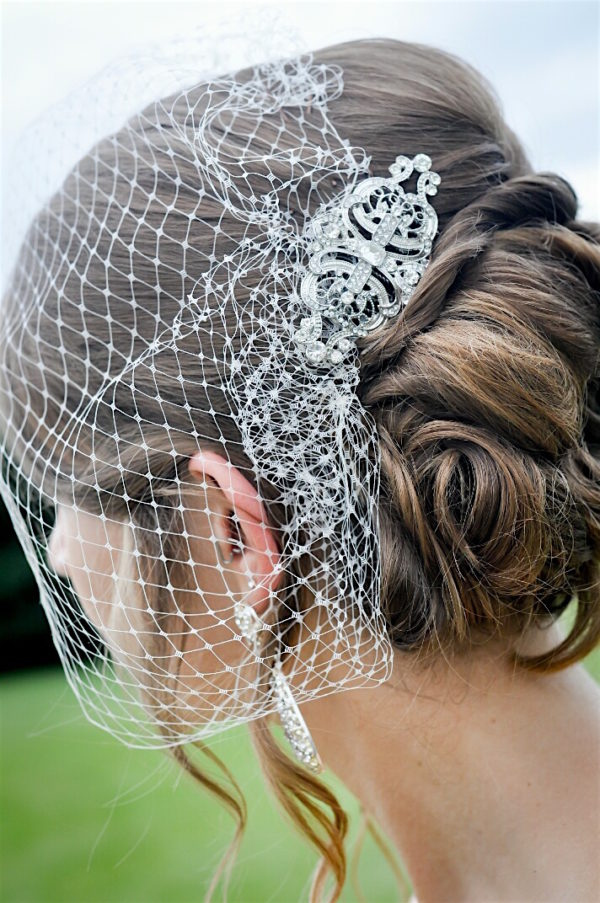Birdcage Veil – Available in Various Colors