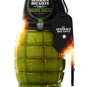 The General's Hot Sauce: Marine Green