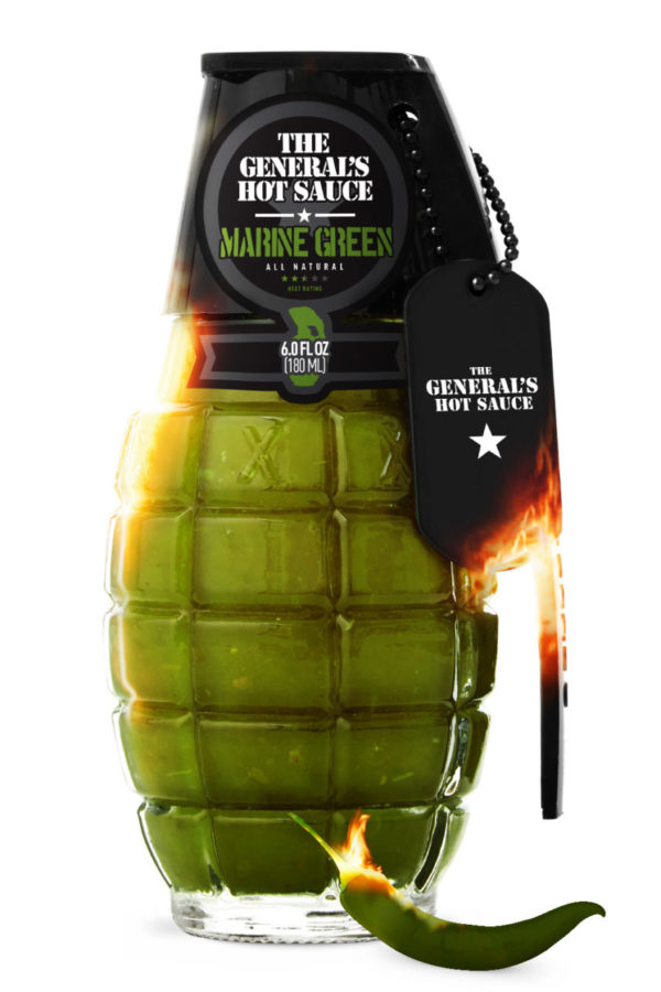 PHoto of The General's Hot Sauce: Marine Green on shopiowa.com