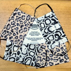 Animal Print Adult Face Masks