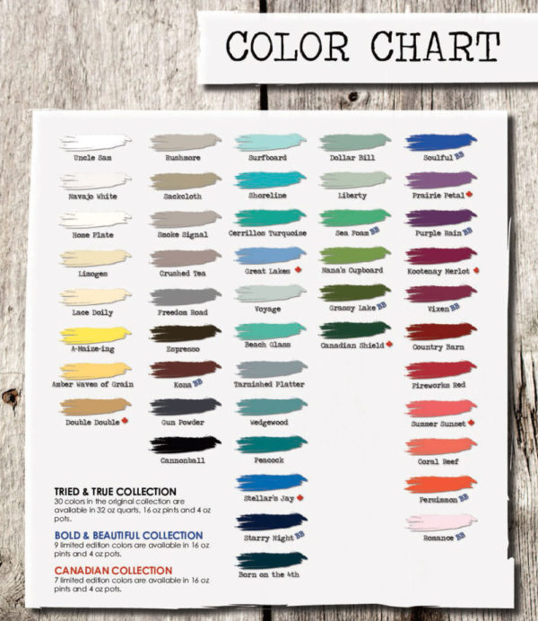American Paint Company Clay/Chalk/Mineral Paint