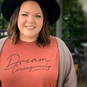 """Dream Courageously"" Unisex Tee"
