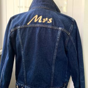 """MRS"" Denim Jacket"