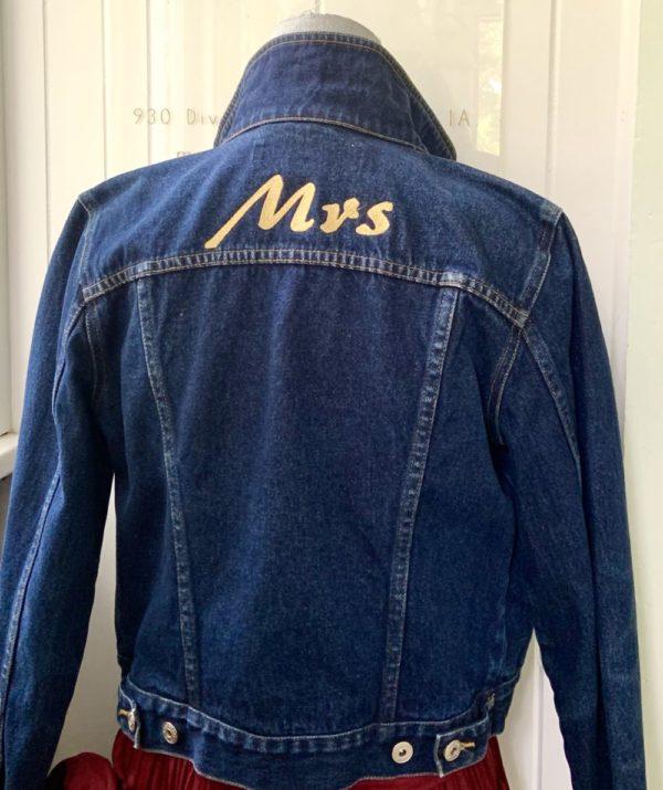 """MRS"" Denim Jacket"