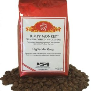 Photo of Highlander Grog - Whole Bean Coffee from Jumpy Monkey on Shopiowa.com