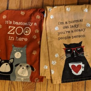 Pet flour sack towels