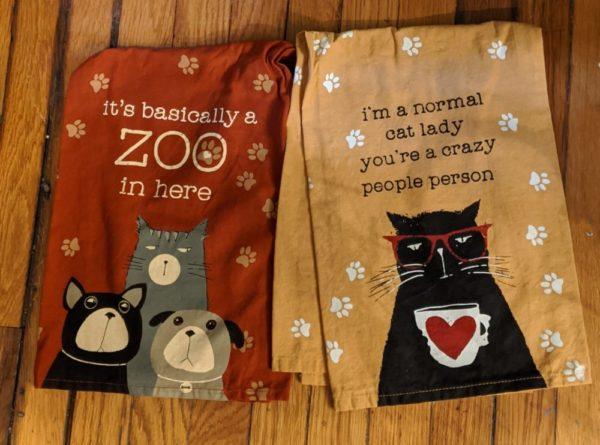 Pet flour sack towels