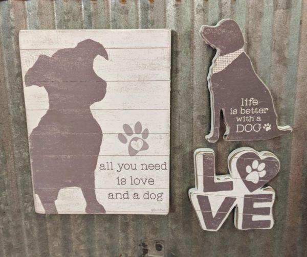 Dog Magnet Set
