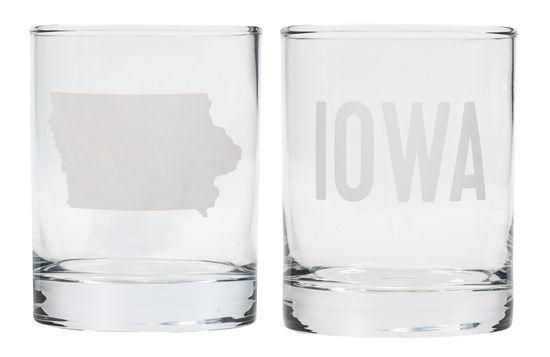 Iowa Rocks Glass Set – State of Mine