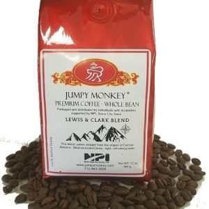 Photo of Lewis & Clark - Whole Bean Coffee from Jumpy Monkey on Shopiowa.com
