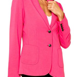 Pink 2 Button Blazer