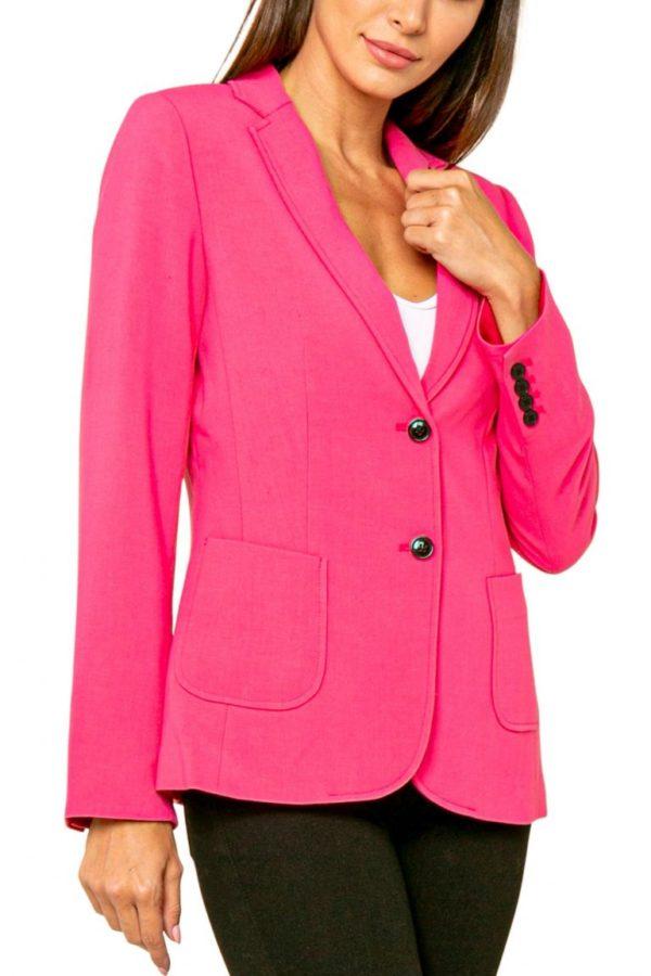 Pink 2 Button Blazer