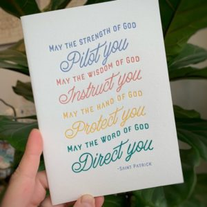 """Pilot You"" Letterpress Greeting Card"