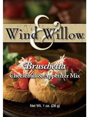 Wind & Willow Bruschetta Cheeseball and Appetizer Mix