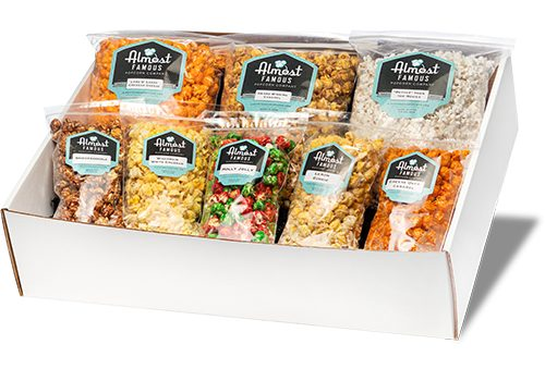 The Champion Gourmet Popcorn Gift Box Set