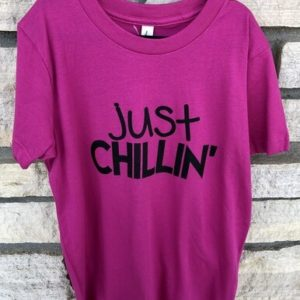 just chillin youth tshirt - Shop Iowa - shopiowa.com - Marketplace website for Iowa's Brick & Mortar Retailers