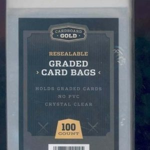 Graded Collectible Card Bags- 100 CT
