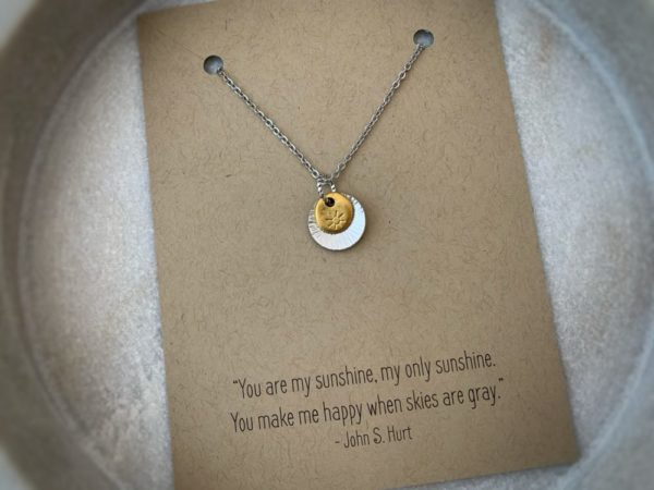 """""""You Are My Sunshine"""" Necklace"""