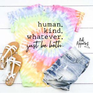 Human Kind Tie Dye T-Shirt