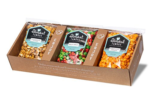 The Trio Gourmet Popcorn Gift Box Set