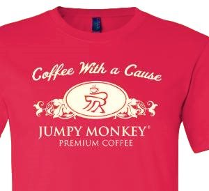 Support Small Business - Jumpy Monkey T-Shirt