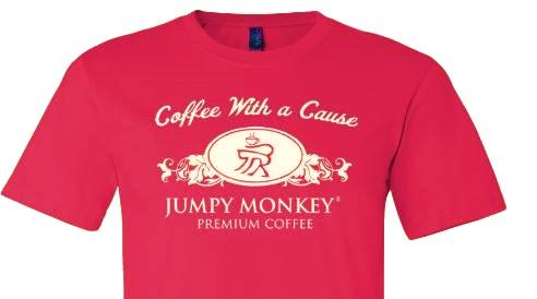 Support Small Business - Jumpy Monkey T-Shirt