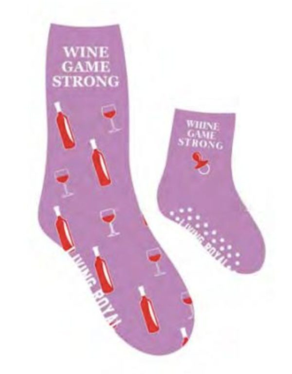 Wine Game Me and Mini Socks
